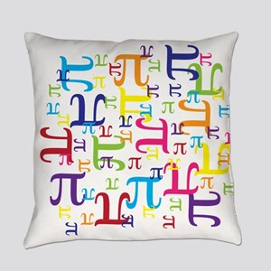 Pieces of Pi Everyday Pillow