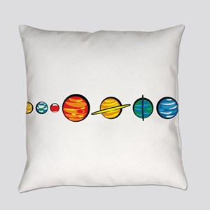 planets_cl Everyday Pillow