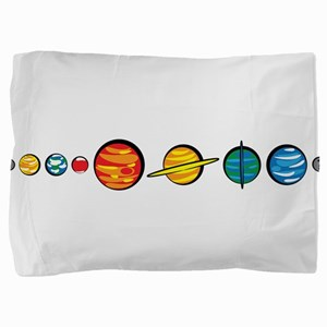 planets_cl Pillow Sham