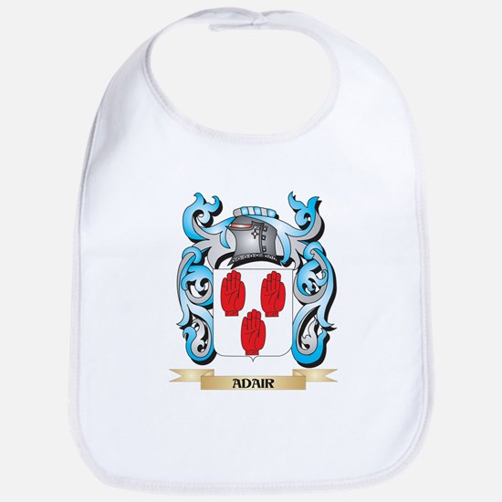 Adair Coat of Arms - Family Crest Baby Bib