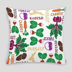 root_veg_4 Everyday Pillow