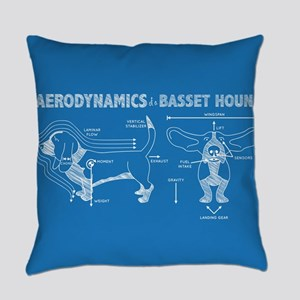 The Aerodynamics of a Basset Hound Everyday Pillow
