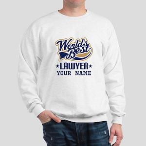 Worlds Best Lawyer gift Sweatshirt