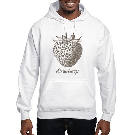 Vintage Strawberry Hooded Sweatshirt