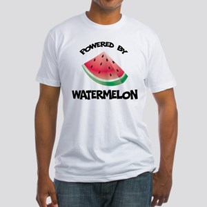 Powered By Watermelon Fitted T-Shirt