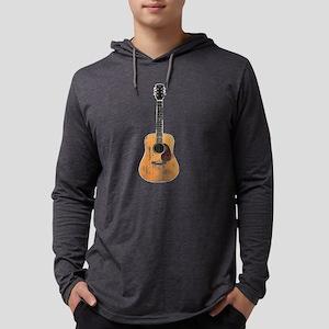 full-acoustic-guitar-distressed Long Sleeve T-Shir