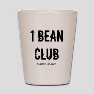 1 Bean Club Shot Glass