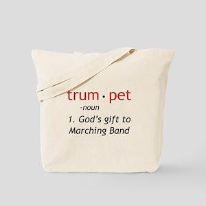 God's Gift Trumpet Tote Bag