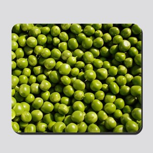peas, vegetable, Mousepad