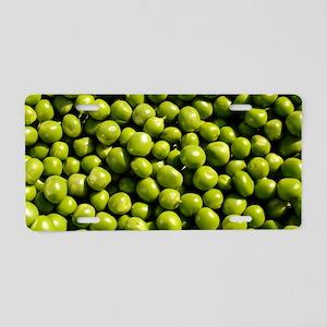 peas, vegetable, Aluminum License Plate