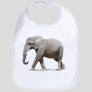 Elephant photo (Front only) Bib