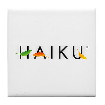 Haiku Tile Coaster