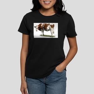 Cow Photo Women's Dark T-Shirt