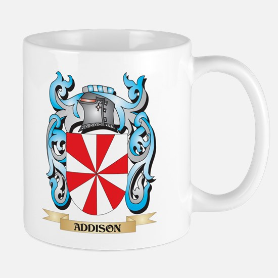 Addison Coat of Arms - Family Crest Mugs
