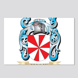 Addison Coat of Arms - Fa Postcards (Package of 8)