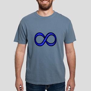 Royal Blue Infinity Symbol T-Shirt