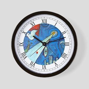 """Venus """"La Nuit"""" Wall Clock"""