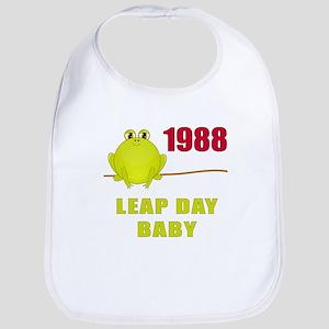 1988 Leap Year Baby Bib