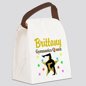 GYMNAST QUEEN Canvas Lunch Bag