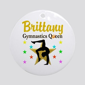 GYMNAST QUEEN Ornament (Round)
