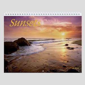 Sunsets Wall Calendar
