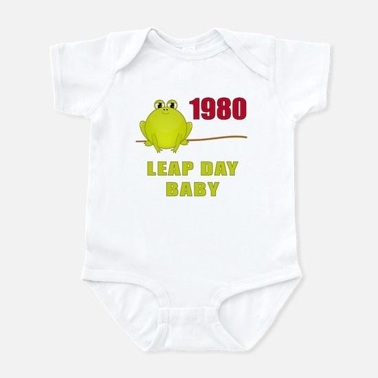 1980 Leap Year Baby Infant Bodysuit