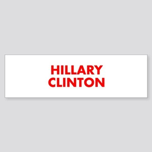 Hillary Clinton-Fut red 400 Bumper Sticker
