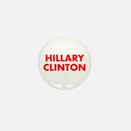 Hillary Clinton-Fut red 400 Mini Button