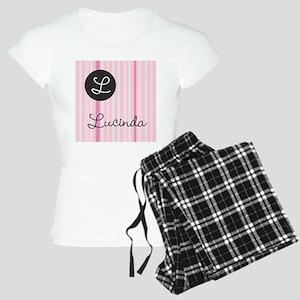 PINK Name Monogram Pajamas
