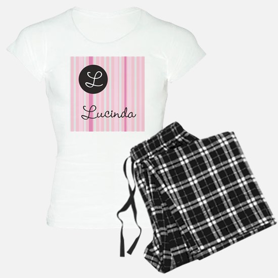 PINK Name Monogram Pajamas