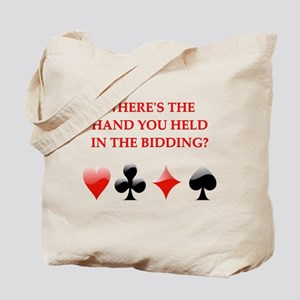 duplicate bridge gifts Tote Bag