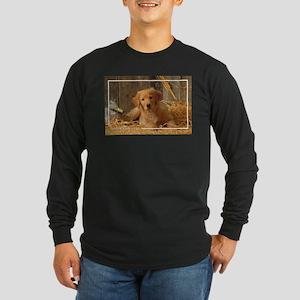 Golden Retriever-6 Long Sleeve Dark T-Shirt
