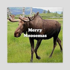 Merry Moosemas, Alaskan moose Queen Duvet