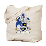 Emmet Family Crest Tote Bag