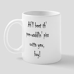 Beet pee-waddlin' Piss outta  Mug