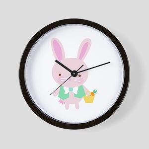 EASTERBOY BUNNY Wall Clock