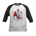 Elton Family Crest Kids Baseball Jersey