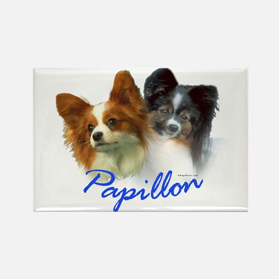 papillon-1 Rectangle Magnet (10 pack)