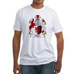 Elford Family Crest Fitted T-Shirt