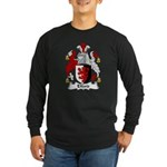 Elford Family Crest Long Sleeve Dark T-Shirt