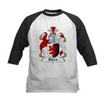 Elford Family Crest Kids Baseball Jersey