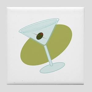 Martini Tile Coaster