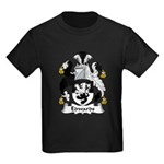 Edwards Family Crest Kids Dark T-Shirt