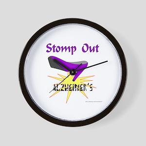ALZHIEMER'S Wall Clock