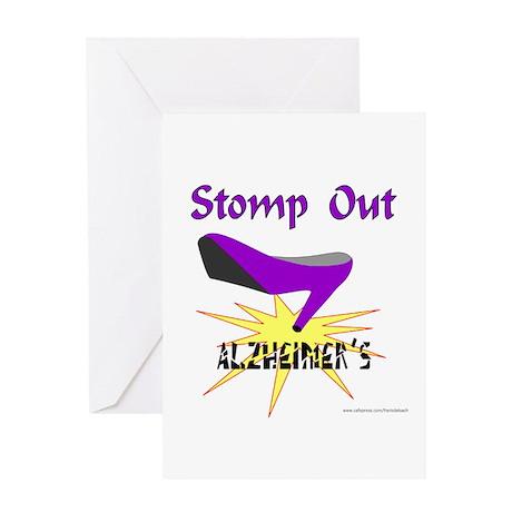 ALZHIEMER'S Greeting Card