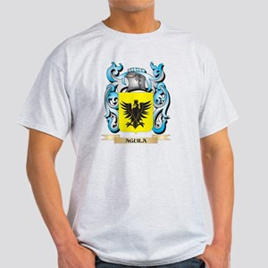 Aguila Coat of Arms - Family Crest T-Shirt