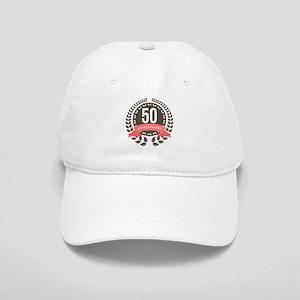 50 Years Anniversary Laurel Badge Cap