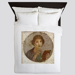 Pompeii Queen Duvet