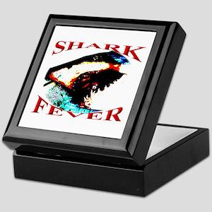 Shark Fever Keepsake Box