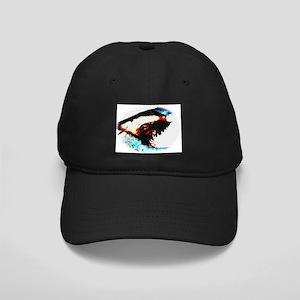 Shark Jaws Black Cap